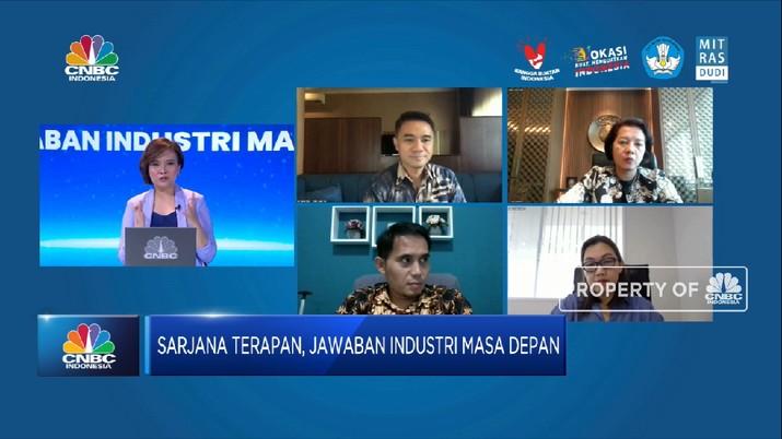 Sarjana Terapan, Solusi Persoalan Dunia Usaha & Dunia Industri (CNBC Indonesia TV)