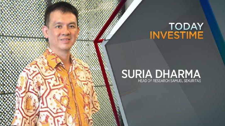 Suria Dharma, Head of Research Samuel Sekuritas