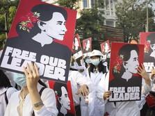 Myanmar Merana! Warga Mogok Kerja, Dunia Keroyok Sanksi