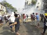 Myanmar Memanas, Polisi Lepas Tembakan-Granat, 1 Tewas