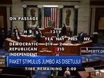 Akhirnya Paket Stimulus Jumbo AS Disetujui