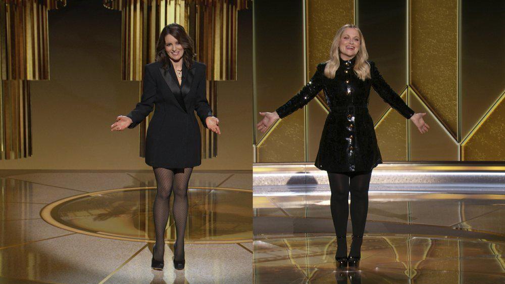 Golden Globe Awards 2021. (AP/NBC)
