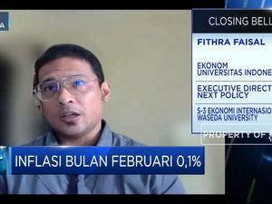 Inflasi Februari 2021 Rendah, Ekonom: Masih Sangat Wajar!
