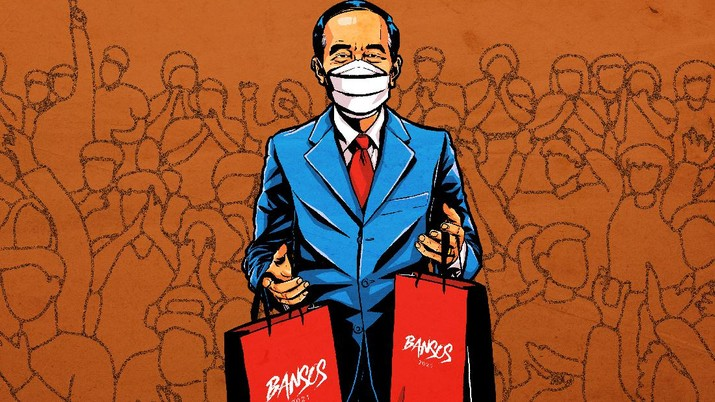 Infografis: Deretan Bansos Jokowi yang Bakal Cair Maret 2021