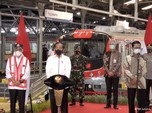Top! Jokowi Resmikan Kereta Listrik Lintas Yogyakarta - Solo