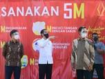 Blusukan di Jogja, Presiden Jokowi Tinjau Vaksinasi Massal