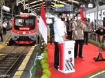 Jokowi Resmikan KRL Yogyakarta - Solo Pengganti Prameks