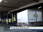 Top! RI Sudah Miliki 38 Juta Dosis Vaksin Sinovac