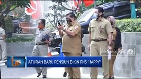 Aturan Baru Pensiun Bikin PNS 'Happy'