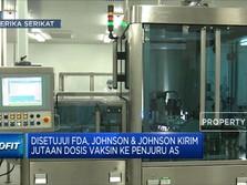 Johnson & Johnson Kirim Jutaan Dosis Vaksin Ke Penjuru AS