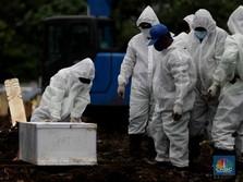 Rekor Beruntun Kasus Positif & Kematian Akibat Covid-19 di RI