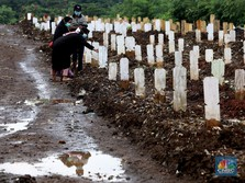 Waspada! Kasus Kematian Akibat Covid-19 di RI Melonjak