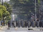 Tolak Perintah Junta, 3 Polisi Myanmar Cari Suaka ke India