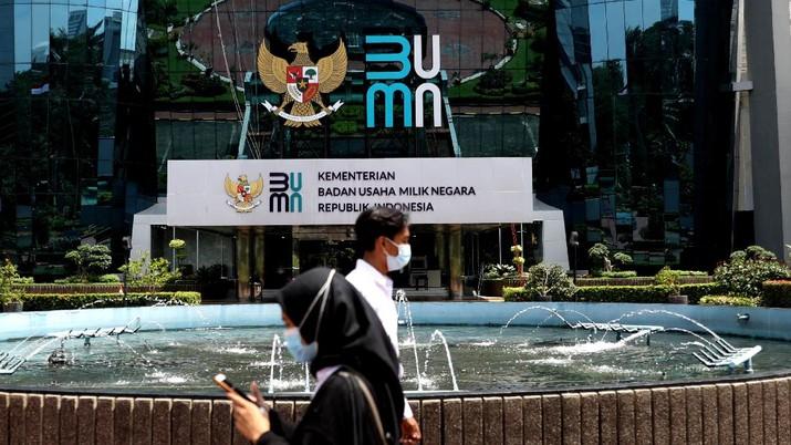 Badan Usaha Milik Negara (BUMN). (CNBC Indonesia/Muhammad Sabki)