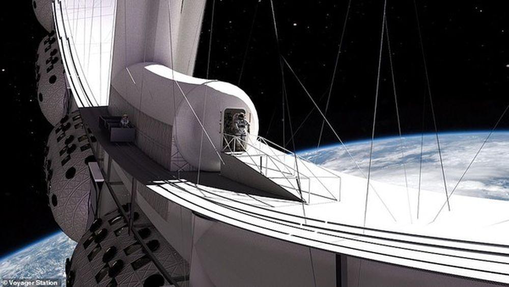 Hotel luar angkasa pertama rencananya akan mulai beroperasi pada 2027. (Dok: Voyager Station)
