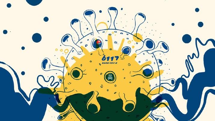 INFOGRAFIS, Mengenal Mutasi Corona B117 yang Ditemukan di Karawang