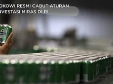 Dengarkan Ulama, Jokowi Akhirnya Cabut Aturan Investasi Miras