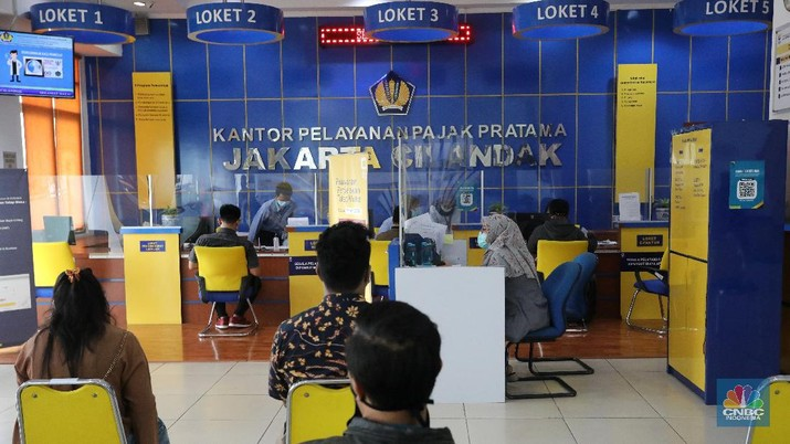 Kantor Pajak. (CNBC Indonesia/Andrean Kristianto)
