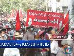 38 Orang Tewas Tolak Junta Militer