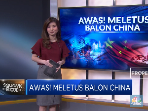 Awas! Meletus Balon China