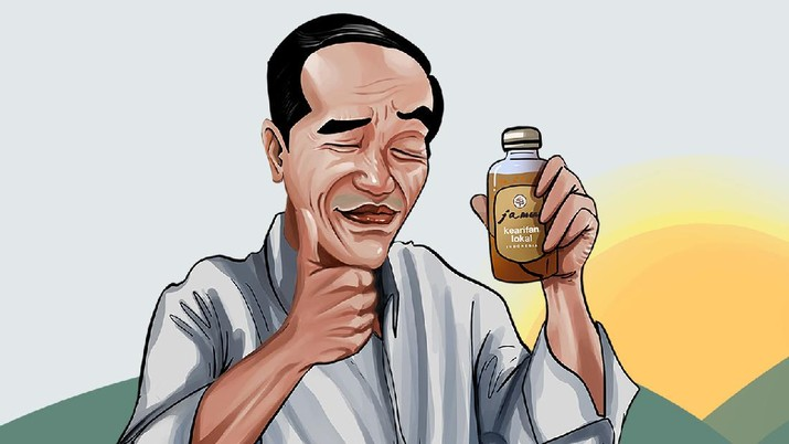 INFOGRAFIS, Saat Jokowi Gaungkan Benci Produk Luar Negeri
