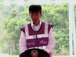 Jokowi Resmikan Bendungan 'Mampir Dulu' Cegah Banjir Banten