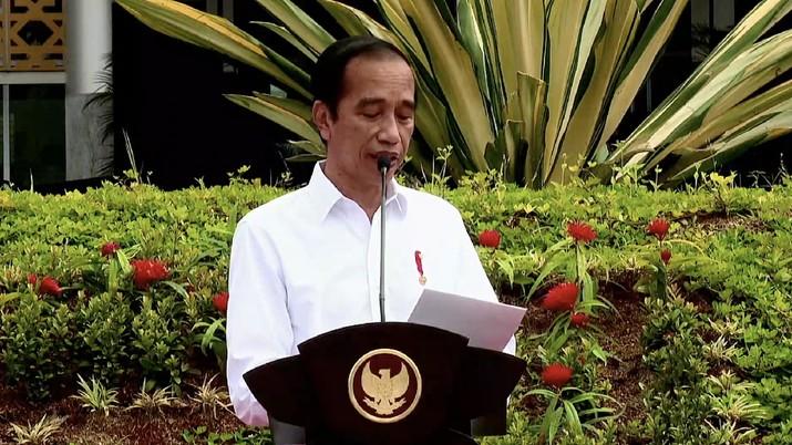 Peresmian Kampus Universitas Sultan Ageng Tirtayasa Sindang Sari, Kota Serang, 4 Maret 2021. (Tangkapan layar Youtube Setpres RI)
