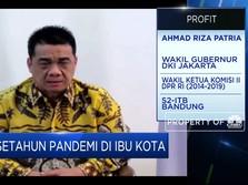 Setahun Pandemi DKI Jakarta, Ini Evaluasi Wagub Ahmad Riza