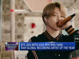 BTS Raih IFPI Global Recording Artist Of The Year 2020