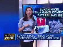 Bukan Nikel, Tesla Ganti Komponen Baterai Jadi Besi