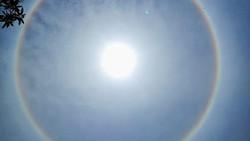 Fenomena Matahari Bercincin Muncul di Kota Parepare, Ini Penjelasan BMKG