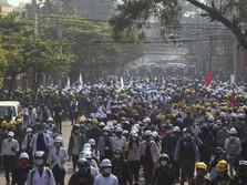 Oposisi Buat Tentara Lawan Junta, Awas Myanmar Perang Saudara
