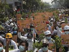Maaf Junta Militer, Ekonomi Myanmar Makin 'Longsor'
