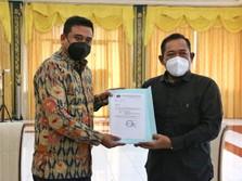 BPH Migas Kunjungi Walikota Medan Bobby Nasution