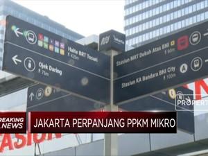 DKI Jakarta Perpanjang PPKM Mikro Hingga 22 Maret 2021