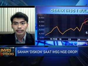 IHSG Nge-drop, Saatnya Lirik Saham 'Diskon'?