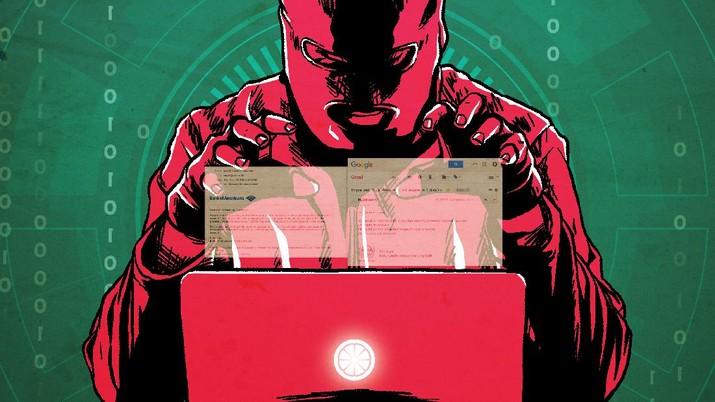 Infografis: Kasus Phising Email yang Serang Indonesia Makin Merajalela