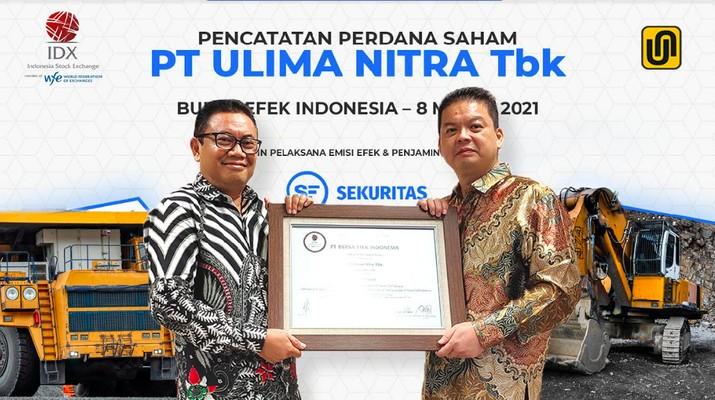 IPO PT Ultima Nitra Tbk (UNIQ), 8 Maret 2020/Dok BEI