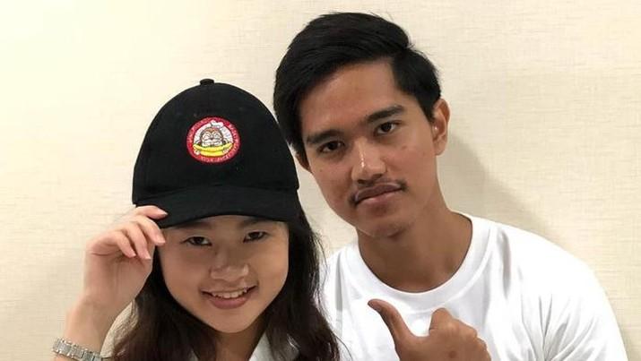Kaesang Pangarep dan Felicia Tissue saat masih bersama. Foto: Instagram