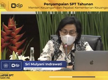 Tak Sampai 5 Menit, Sri Mulyani Beres Lapor SPT Pajak