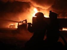 Kilang Pertamina Balongan Meledak & Terbakar, 4 Luka Bakar