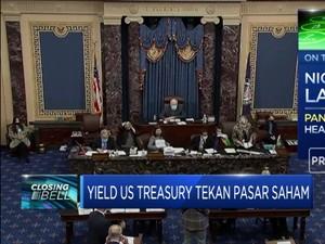 Yield US Treasury Tekan Pasar Saham, IHSG Ditutup Memerah