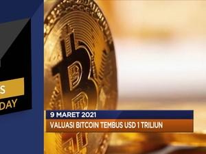 Penjualan Eceran Terkontraksi Hingga Valuasi Bitcoin USD 1 T
