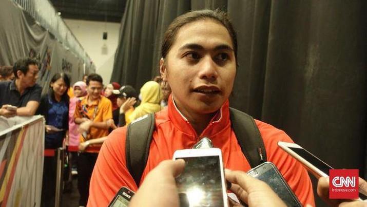Aprilia Manganang mengalami pergantian status dari perempuan ke laki-laki. (CNN Indonesia/ M Arby Rahmat)