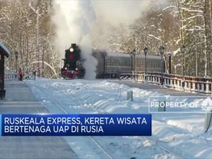 Ruskeala Express, Kereta Wisata Bertenaga Uap di Rusia