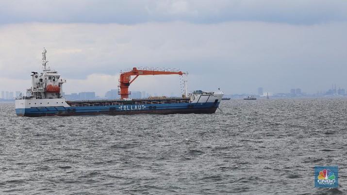 Ilustrasi Tol laut. (CNBC Indonesia/Andrean Kristianto)