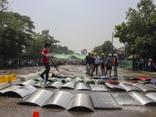 Duh! Korban Tewas di Demo Myanmar Bertambah 7 Orang