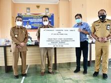 Dukung Desa Mandiri, KPC Bantu Sarana Olahraga & Air Bersih