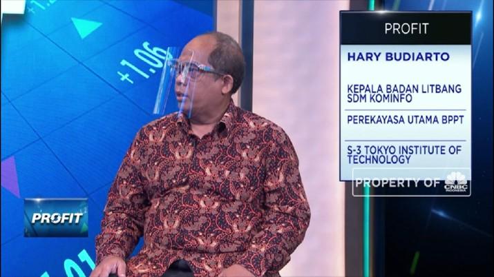 DTS 2021, Strategi Pengembangan Talenta Digital di Kominfo  (CNBC Indonesia TV)