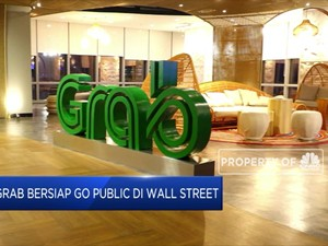 Grab Bersiap Go Public di Wall Street